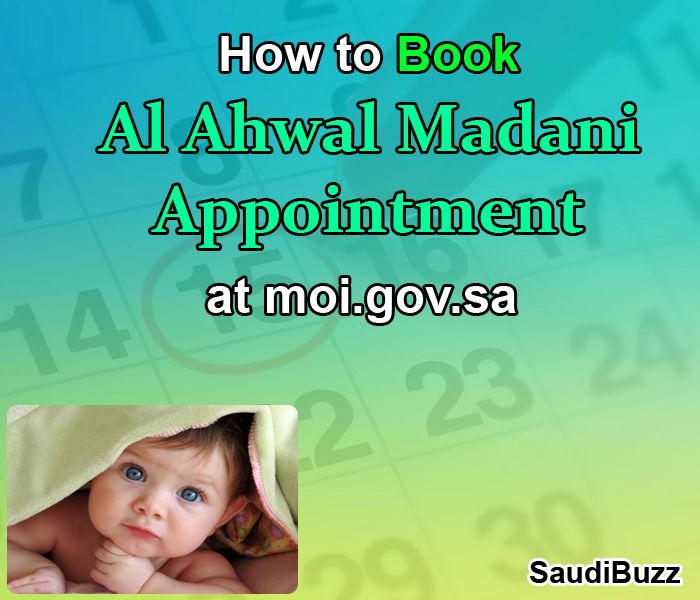 How to Book Al Ahwal Appointment on MOI.gov.sa Website Online